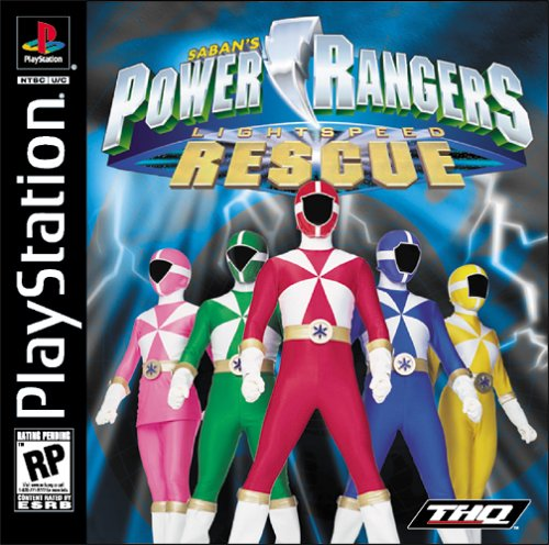 Power Rangers  Lightspeed Rescue NTSCU ISO  PSX ISOs